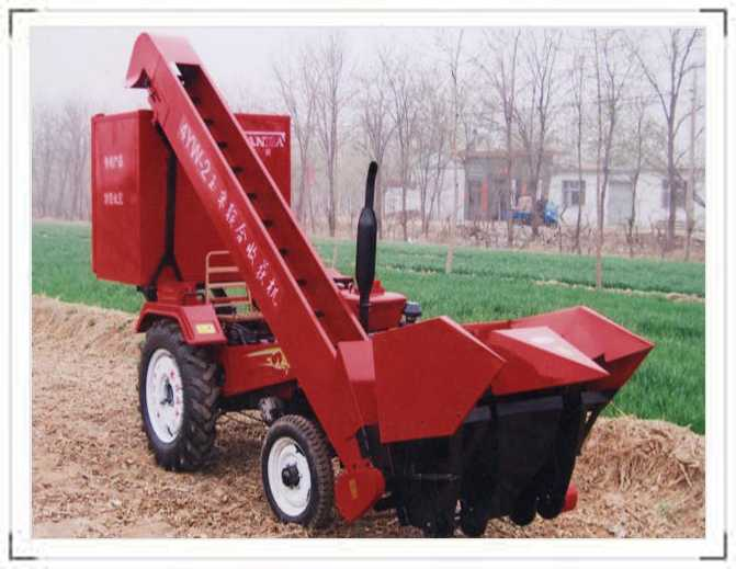 Small Corn Harvester
